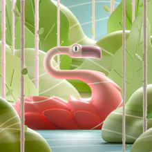36 days of type 2021. A Design, Illustration, Motion Graphics, 3D, and 3D Animation project by Romain Braccini - 05.10.2021