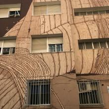EDUCACIÓ PER LA PAU / ARTE MURAL. A Illustration, Installation, Bildende Künste und Urban Art project by Justo Heras - 01.11.2017