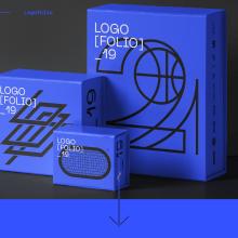 Logofolio 2019. Un proyecto de Diseño, Br, ing e Identidad, Diseño gráfico, Tipografía y Diseño de logotipos de Esteban Ibarra - 27.12.2019
