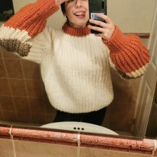 Mi Proyecto del curso: Crochet: crea prendas con una sola aguja. A Fashion, Fashion Design, Fiber Arts, DIY, and Crochet project by Ana Luz Valenzuela - 04.14.2021