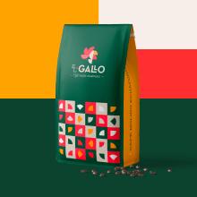 El Gallo Café. A Br, ing und Identität und Verpackung project by bpguerrerog - 03.06.2021