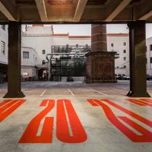 Damm. Parking. Señalización. A Design project by Mario Eskenazi - 07.18.2021