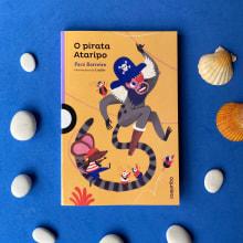 O pirata Ataripo. A Illustration, Editorial Design, Creativit, Children's Illustration, Digital Drawing, and Editorial Illustration project by Laura Fernández Arquisola - 07.19.2021