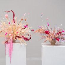 Diseño de centros florales con técnicas de secado y teñido. A Interior Design, L, scape Architecture, Decoration, and DIY project by Violeta Gladstone - 07.21.2021