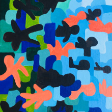 A Conversation About Race in America. A Painting project by Sharon Buttry - 07.28.2021