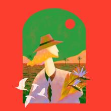 Mi Proyecto del curso: Ilustración flat con Photoshop. A Illustration, Digitale Illustration und Digitale Malerei project by Guany Glez García - 29.01.2021