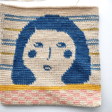 My project in Tapestry: Crochet Techniques for Drawing with Thread  course. A Accessor, Design, Fashion, Pattern Design, Fiber Arts, DIY, and Crochet project by Jo Bowley - 08.08.2021