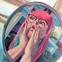 Autorretratos - Self care [EN-ES]. Un proyecto de Ilustración, Bellas Artes e Ilustración de retrato de Alai Ganuza - 09.08.2021