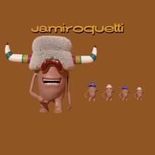 Jamiroquetti. Un proyecto de Música, Audio, 3D, Animación, Vídeo, Animación de personajes, Animación 3D, Modelado 3D, Diseño de personajes 3D, Edición de vídeo, Instagram, Humor gráfico, Diseño 3D y Producción musical de Hernan Crocce - 11.08.2021