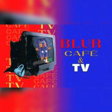 Coffee and TV - Blur. Un proyecto de Ilustración, Música, Audio, Cine, vídeo, televisión, Diseño de personajes, Vídeo, VFX, Animación de personajes, Animación 2D, Stor y telling de Hernan Crocce - 11.08.2021