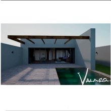 Mi Proyecto del curso: Visualización arquitectónica con V-Ray para SketchUp. Un proyecto de Arquitectura, Arquitectura interior, Arquitectura digital y Visualización arquitectónica de celina Valadez Rodriguez - 11.08.2021