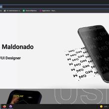 Mi Proyecto del curso: Diseño, desarrollo y publicación de una página web. Um projeto de Web design, Desenvolvimento Web, CSS, HTML e Javascript de David Maldonado - 16.08.2021