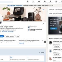 Mi Proyecto del curso: LinkedIn: construye tu marca personal . A Br, ing, Identit, Social Media, and Digital Marketing project by Richard jaspe - 08.21.2021