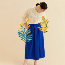 Stock 'N Bloom SS 2021. Un proyecto de Diseño de vestuario, Moda y Diseño de moda de Nivule + Pesci Rossi - 23.08.2021