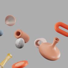 Artgrid Moving Patterns by Clim–Studio. A Motion Graphics, 3-D, Animation, Bildende Künste, Grafikdesign, Produktion, 3-D-Animation, Kreativität, 3-D-Modellierung und 3-D-Design project by Clim Studio - 25.08.2021