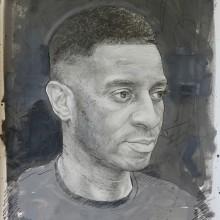 Mixed Media Portrait Drawings . Un progetto di Pittura, Creatività, Disegno a matita, Disegno , e Disegno di ritratto di Alan Coulson - 30.08.2021