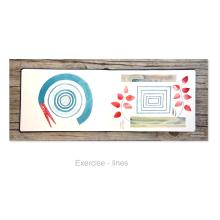Mein Kursprojekt: Kreatives Sketching mit Aquarell für Anfänger. A Illustration, Skizzenentwurf, Kreativität, Zeichnung, Aquarellmalerei und Sketchbook project by anemona - 30.08.2021