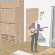 Mi Proyecto del curso: Diseño de interiores de principio a fin. Un proyecto de Arquitectura interior, Diseño de interiores e Interiorismo de Gabriel Bermudes - 13.09.2021