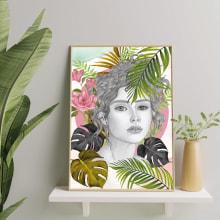 Mi Proyecto del curso: Ilustración de retrato con técnicas analógicas y digitales. Un proyecto de Ilustración, Dibujo a lápiz, Dibujo, Ilustración digital, Pintura a la acuarela, Ilustración de retrato, Dibujo de Retrato y Dibujo realista de Jor Caro - 21.09.2021