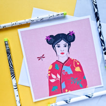 My project in From Illustrations to Merchandise: Market Your Artwork course. A Illustration, Graphic Design, Marketing, and Digital illustration project by Ayelet kasis - 09.22.2021