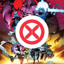X-Men, Dawn of X  Publication Design program. Un proyecto de Diseño, Dirección de arte, Br, ing e Identidad, Diseño editorial, Diseño gráfico y Diseño de logotipos de Tom Muller - 23.09.2021