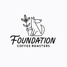 Foundation Coffee Roasters. Un proyecto de Ilustración, Br, ing e Identidad, Packaging y Diseño de logotipos de Aron Leah - 15.10.2021