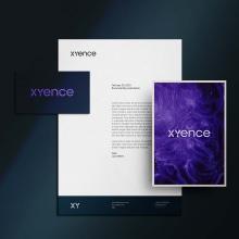 XYence new brand creation. Un proyecto de Br e ing e Identidad de Max Bosio - 19.10.2021