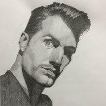 My project in Artistic Portrait Drawing: Capture Authentic Expressions course. Un proyecto de Ilustración, Bellas Artes, Bocetado, Dibujo a lápiz, Dibujo, Ilustración de retrato, Dibujo de Retrato, Dibujo realista, Dibujo artístico y Dibujo anatómico de Troy Morgan - 24.10.2021