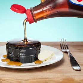 Comida deliciosa, publicidad engañosa