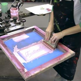 5 espacios básicos para tu taller de serigrafía por barbasilkscreenatelier
