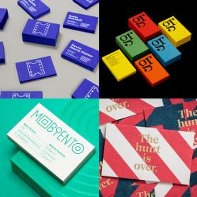 20 elegantes tarjetas de presentación