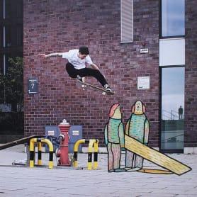 Lucas Beaufort, arte en el skateboarding
