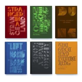 Clásicos de la ciencia ficción diseñados por Alex Trochut
