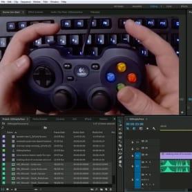 Cómo editar video utilizando un control de videojuegos