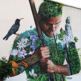 Sabotaje al Montaje: arte urbano con sabor canario