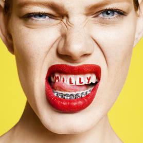 Branding gamberro de Sagmeister & Walsh para MILLY