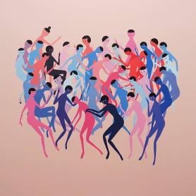 Anatomía minimalista en las pinturas de Santiago Ascui
