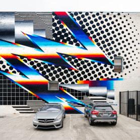 Felipe Pantone: arte urbano con vistas al hiperespacio