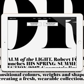 El estudio atipo estrena fundición tipográfica