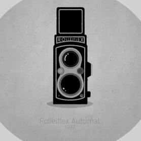 Historia animada de la cámara fotográfica
