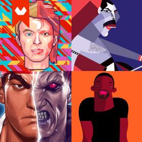 10 ilustradores que son unos cracks haciendo retratos
