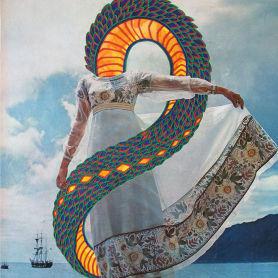 Los universos caleidoscópicos en madera de Gabriel Schama