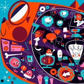 Jhonny Núñez, ilustraciones con sabor multicultural