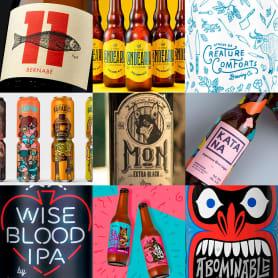 Los 100 mejores diseños de cerveza del mundo