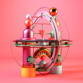 Hipertotems geométricos en 3D