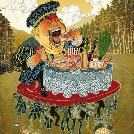 Acuarela, tinta china y digital en las ilustraciones de Jilipollo