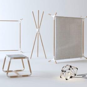 Mobiliario minimalista con diseño DIY