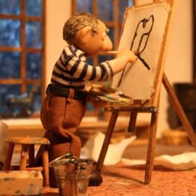 Picasso y el Guernica en stop-motion