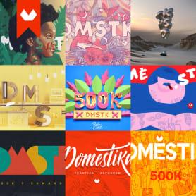 Estos son los ganadores del concurso 500K de Domestika
