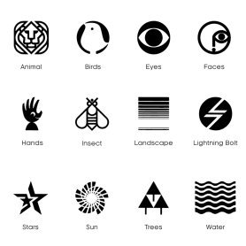 Logobook: una biblioteca con los mejores logotipos